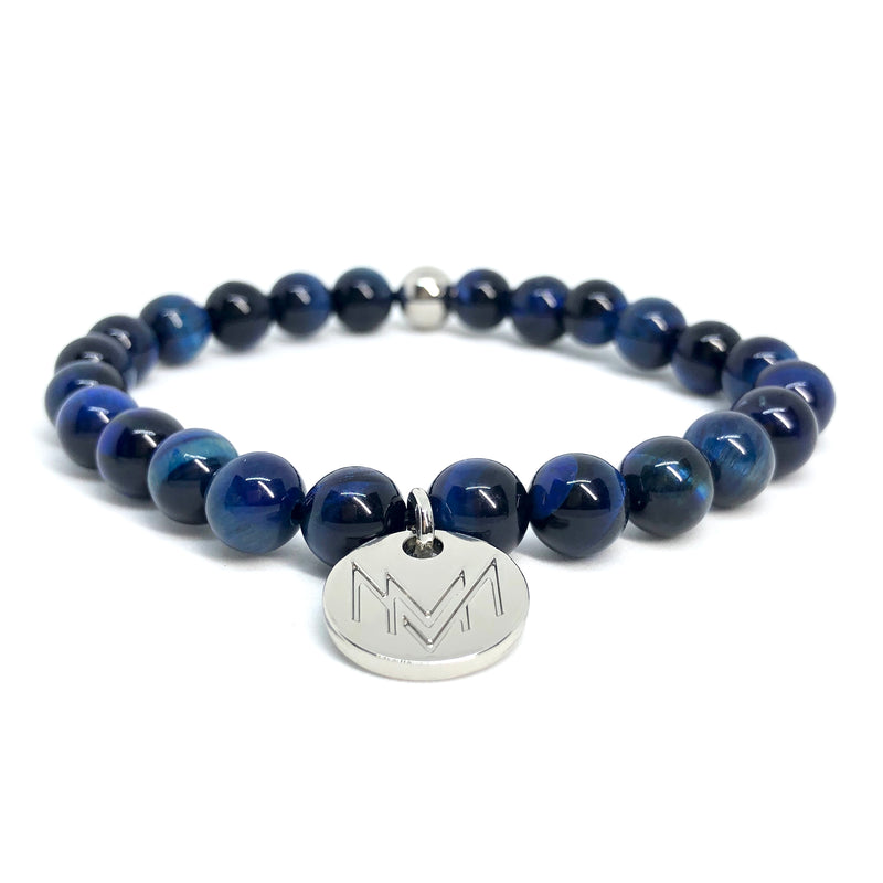 blue bracelet for men