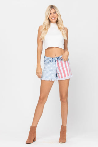 Judy Blue USA Denim Shorts