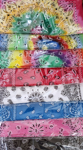 Lightweight Bandana Scarf - Assorted