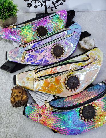 LV Upcycled Fancy Fanny Packs - Assorted