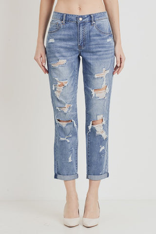 C'est Toi Mom Fit Jeans - Medium