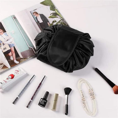 Drawstring Makeup Pouch - Assorted