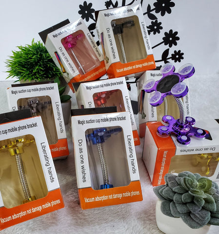 Magic Suction Cell Phone Holders - Assorted