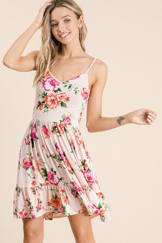 Lovely Melody Kadence Sun Dress - Blush