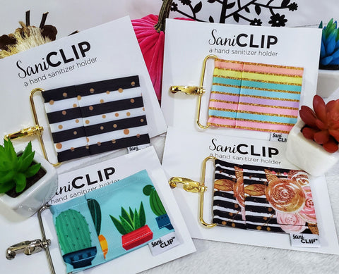 Mini SaniClip Holders - Assorted