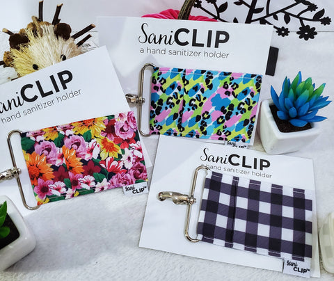 Standard SaniClip Holders - Assorted