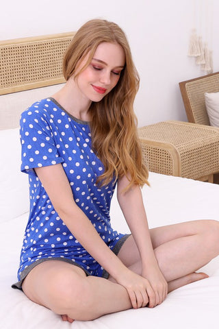 Ninexis Sleepwear PJ Set - Polka Dot
