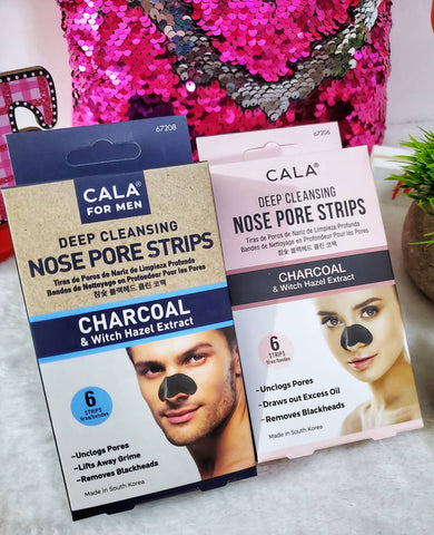 Cala Deep Cleansing Nose Pore Strips - Assorted
