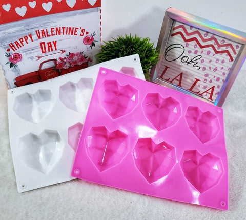 3D Heart Shaped Chocolate Bomb Mold Tray - Assorted