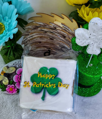 The Crispery Giant Rice Crispycakes - St. Patrick's Day Shamrock