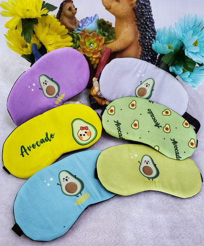 Avocado Sleep Masks - Assorted