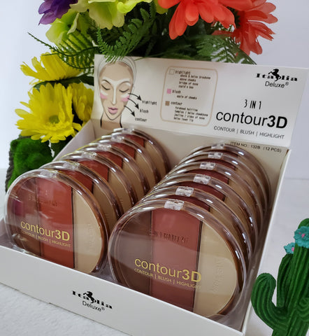 3-in-1 Contour3D Powder - Assorted