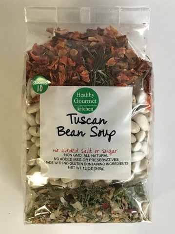 Healthy Gourmet Kitchen - Tuscan Bean Soup