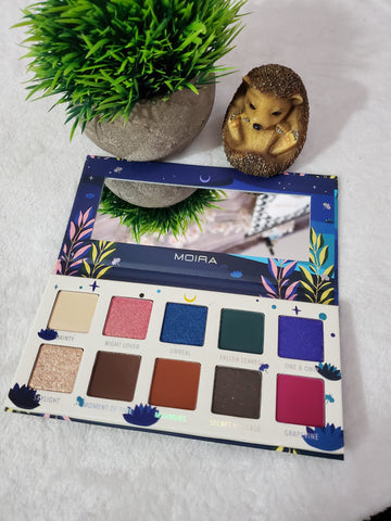 Moira Eyeshadow Palette - Midnight Whispers