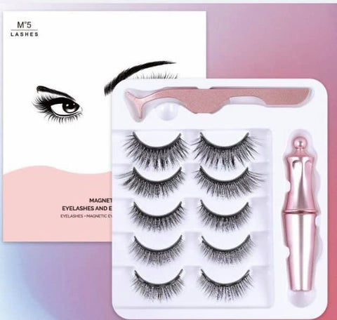 Best of Both Magnetic Lashes - 5 Pack