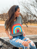 Spotted Rainbow Graphic Tee