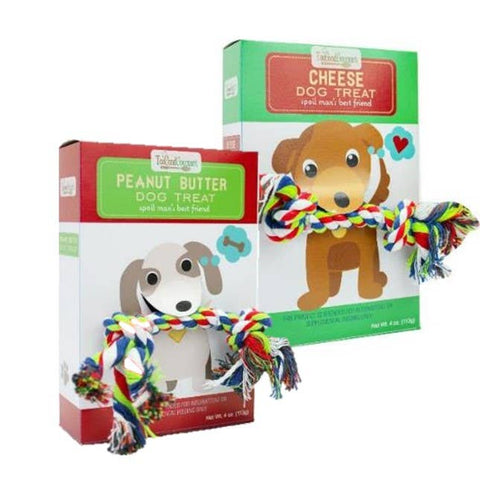 Too Good Gourmet Dog Treat w/ Rope Gift - Assorted