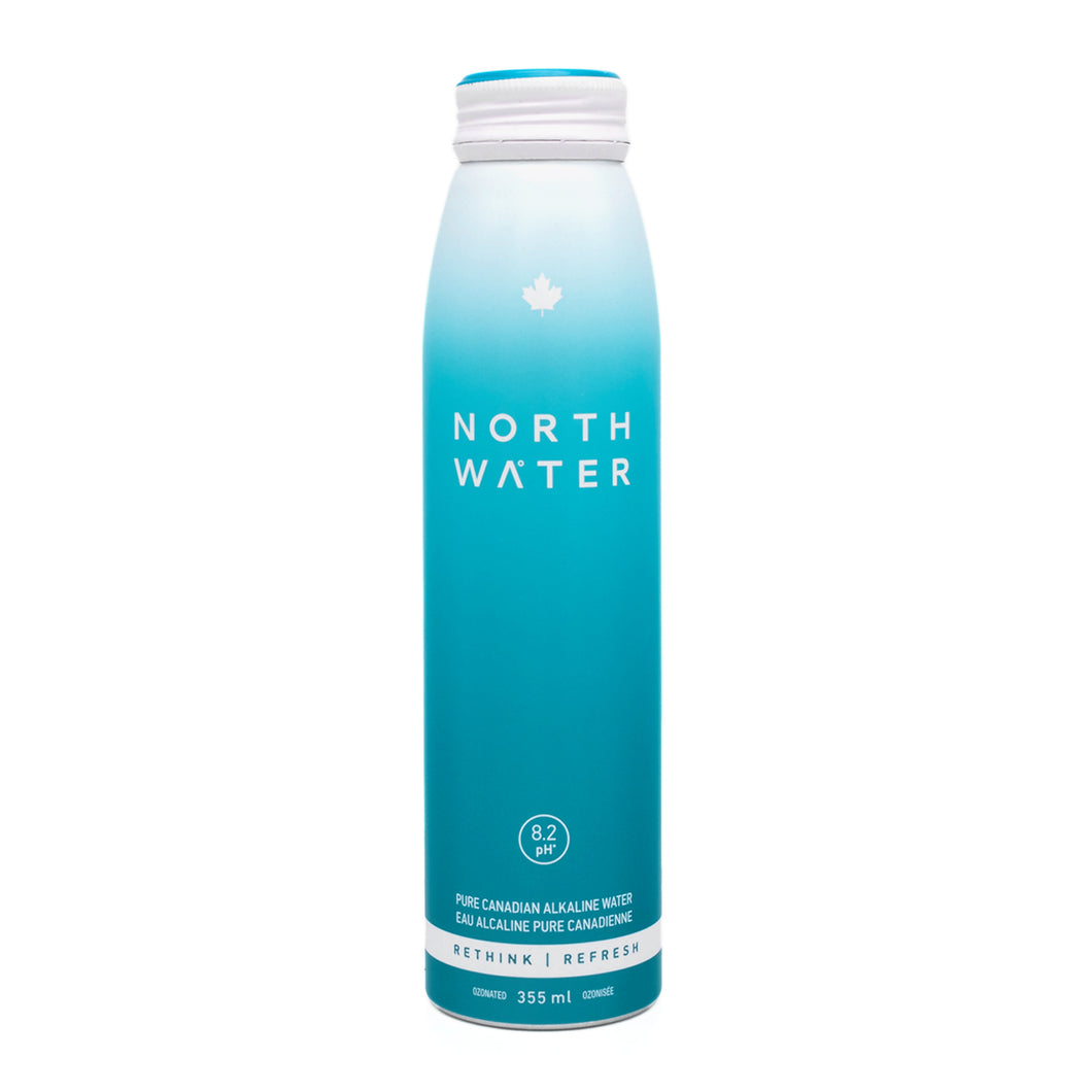 North Water High Alkaline Natural Spring Water 355 ml