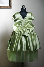 Two layered Satin dress