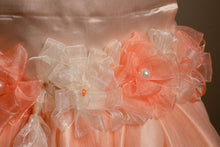 Peach Satin Gown