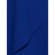 Blue stretch-twill-dress