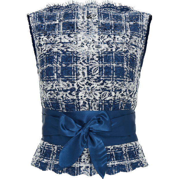 Pattern indigo-lace-shell