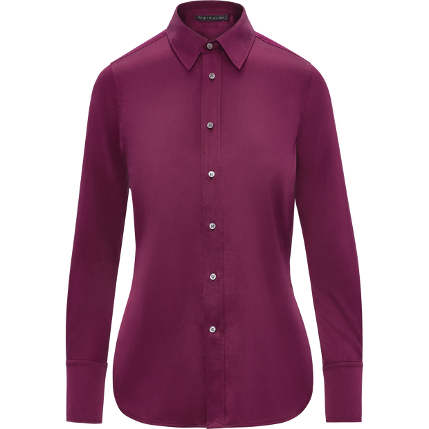 Fuchsia 00 Serena Blouse Blouses & Shirts Worth New York Worth Collection