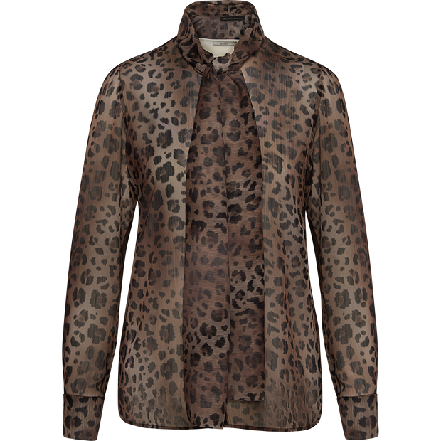 Worth New York Eve Blouse ${description} $398.00 Available in: Color Camel Printed Leopard Size 00