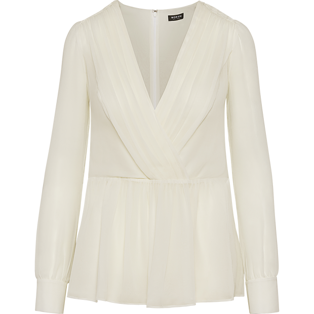 Ivory 0 Ava Blouse Blouses & Shirts Worth New York Worth Collection