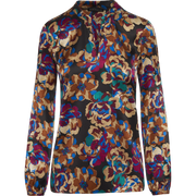 Worth New York Pauline Blouse ${description} $398.00 Available in: Color Abstract Floral Size 00