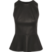Gia Blouse-Blouses & Shirts-Worth New York-Midnight-00-Worth Collection