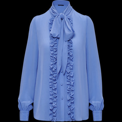 Periwinkle XS Violet Blouse Blouses & Shirts Worth New York Worth Collection