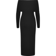 Worth New York Asymmetric Neck Knit Dress ${description} $598.00 Available in: Color Black Size XS