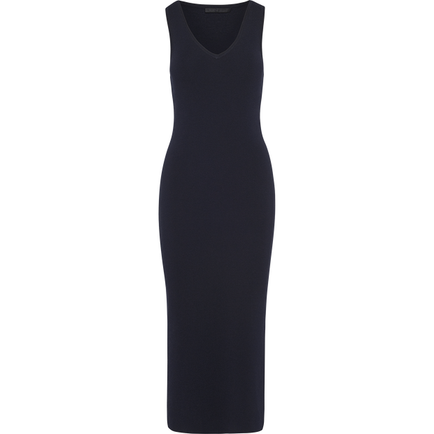 Racerback Knit Dress-Dresses-Worth New York-Sapphire-XS-Worth Collection