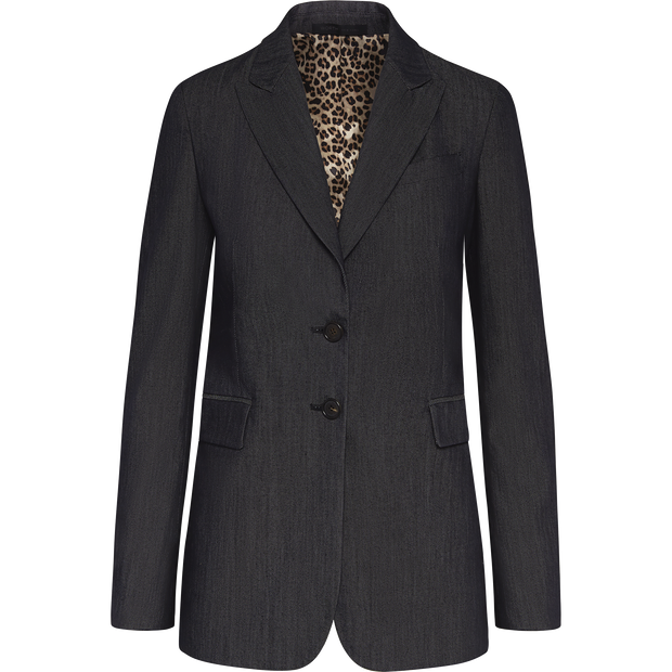 Worth New York Blaine Jacket ${description} $498.00 Available in: Color Indigo Size 00