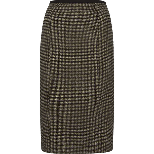Houndstooth 00 Lisa Skirt Skirts Worth New York Worth Collection