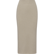 Worth New York Sparkle Knit Straight Skirt ${description} $199.00 Available in: Color Taupe Size XS