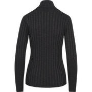 Sparkle Rib Turtleneck Pullover-Sweaters-Worth New York-Sapphire-XS-Worth Collection