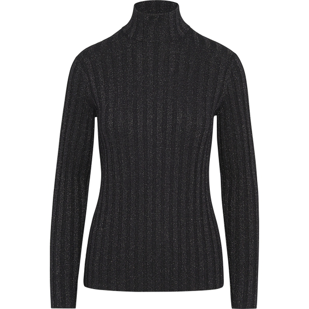 Sapphire XS Sparkle Rib Turtleneck Pullover Sweaters Worth New York Worth Collection