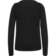 Worth New York Lace Trimmed Pullover ${description} $498.00 Available in: Color Black Size XS