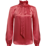 Worth New York Michelle Blouse ${description} $214.00 Available in: Size XS Color Rose Geo Print