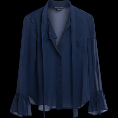 XS Sapphire Rita Blouses & Shirts Worth New York Worth Collection