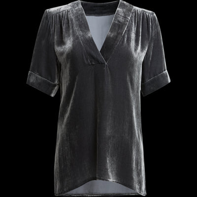 Sonny Top-Blouses & Shirts-Worth New York-XS-Concrete-Worth Collection