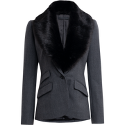 00 Heather Grey Asher Jackets Worth New York Worth Collection
