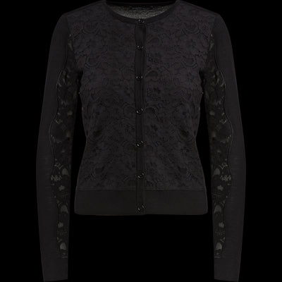 XS Midnight Lace Cardigan Sweaters Worth New York Worth Collection