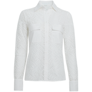 White Alma Blouse Worth New York Worth Collection