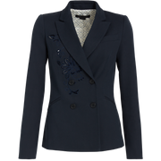 Navy Emily Jacket Worth New York Worth Collection