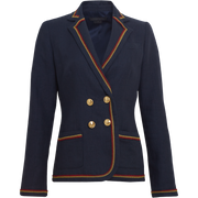 Worth New York Delaney Jacket ${description} $798.00 Available in: Size 00 Color Navy