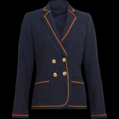 Navy Delaney Jacket Worth New York Worth Collection