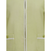 detail of Key Lime White Mila Jacket Worth New York Worth Collection